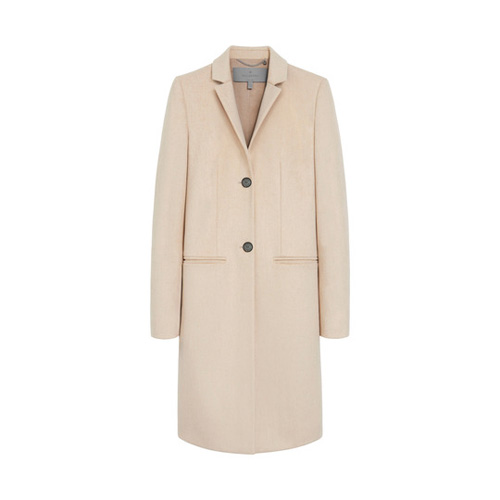 Mulberry Paddington Coat Honey Melange Summer Wool Flannel