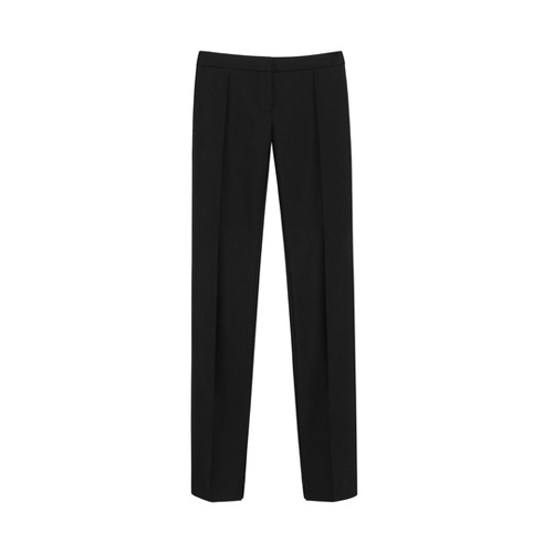 Mulberry Evening Trousers Black Kid Mohair Tuxedo Wool